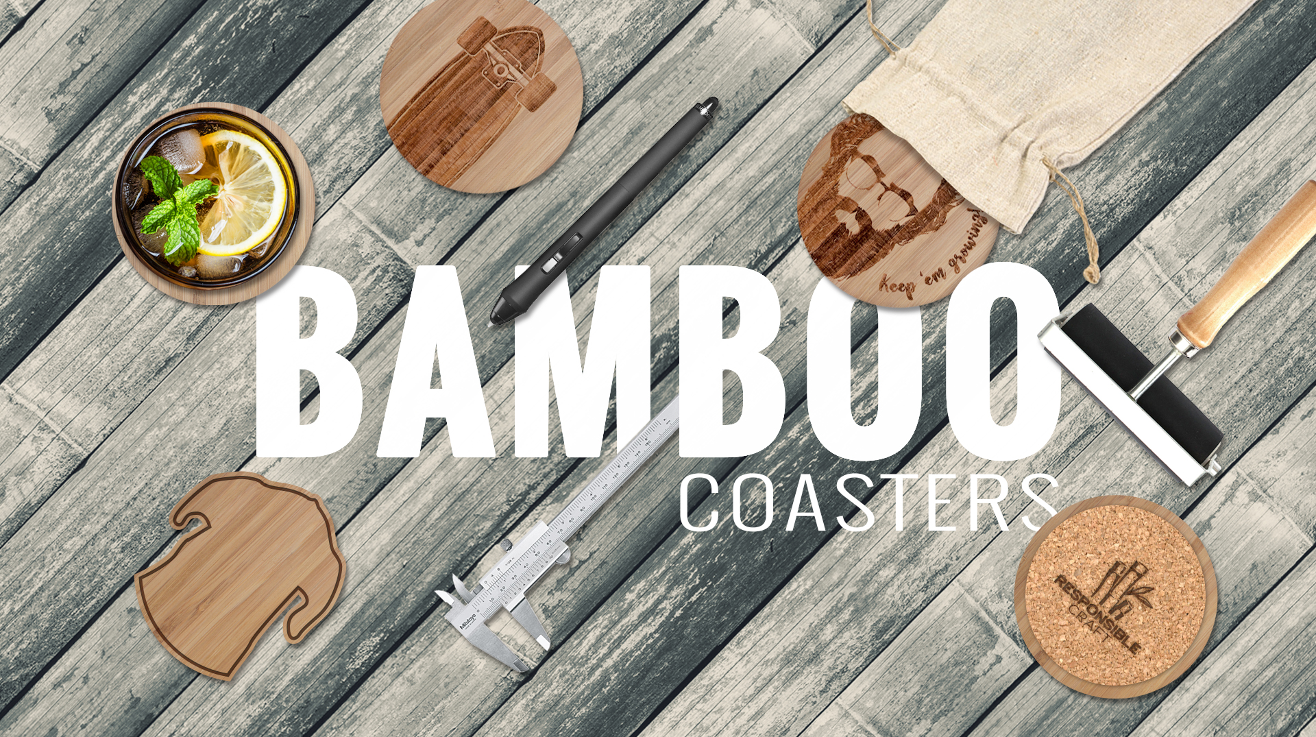 Responsible Craft | Bamboo Coasters